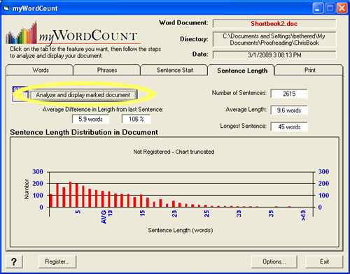 myWordCount 2.01